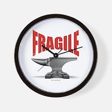 Fragile Anvil Wall Clock