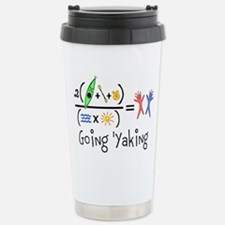 Goin 'Yaking Stainless Steel Travel Mug