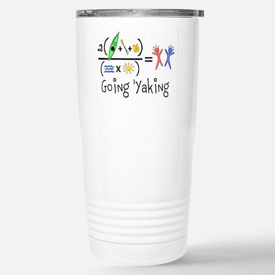 Goin 'Yaking Stainless Steel Travel Mug