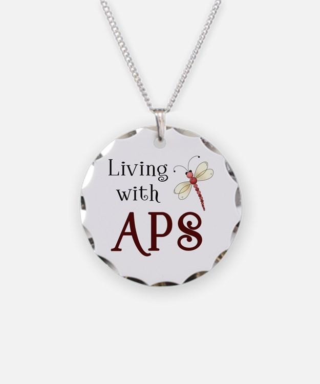 Living with APS - Dragonfly Necklace