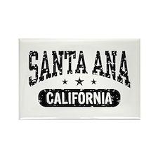 Santa Ana California Rectangle Magnet