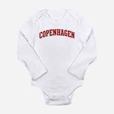 COPENHAGEN (red) Body Suit