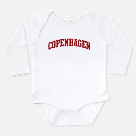COPENHAGEN (red) Body Suit