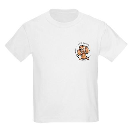 Apricot Poodle IAAM Pocket Kids Light T-Shirt