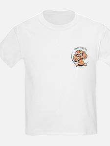 Apricot Poodle IAAM Pocket T-Shirt