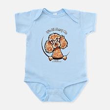 Apricot Poodle IAAM Infant Bodysuit
