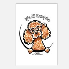 Apricot Poodle IAAM Postcards (Package of 8)