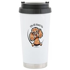 Apricot Poodle IAAM Travel Mug