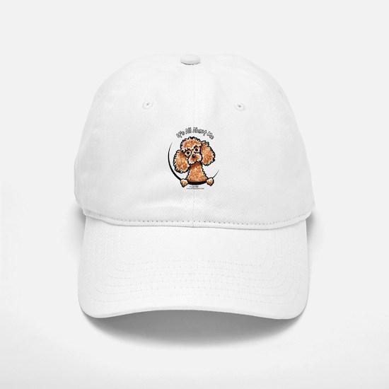 Apricot Poodle IAAM Baseball Baseball Cap