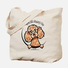 Apricot Poodle IAAM Tote Bag