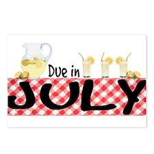 Due in July - Lemonade Postcards (Package of 8)