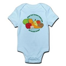 Go Local! Infant Bodysuit