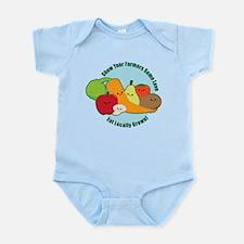 Go Local! Infant Bodysuit