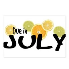 Due in July - Summer Citrus Postcards (Package of