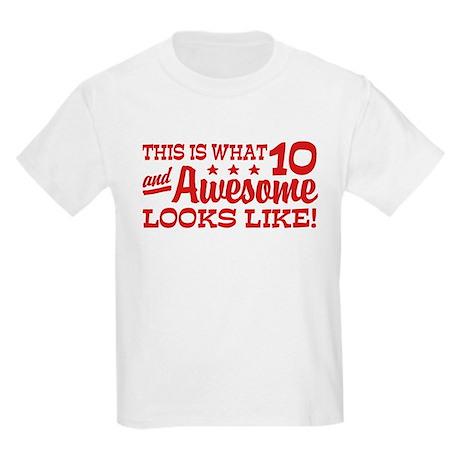 Funny Ten Year Old Kids Light T-Shirt