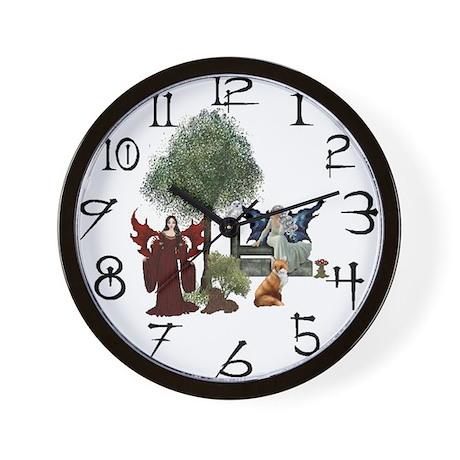 Faery Time - Wall Clock