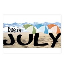 Due in July - Beach Postcards (Package of 8)
