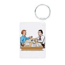 Car Dependent Aluminum Photo Keychain