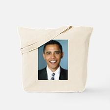 Pixelated Obama Tote Bag