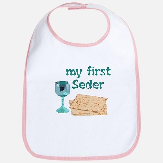 Baby's first Passover Bib