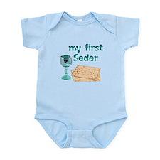 Baby's first Passover Onesie