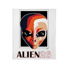 Alien 26, Dani Pedrosa Throw Blanket