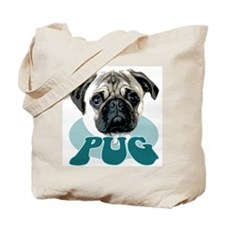 """pug"" design tshirt Tote Bag"