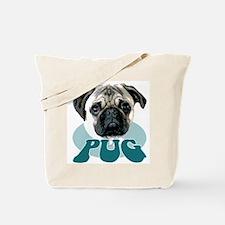 """""""pug"""" design tshirt Tote Bag"""