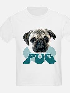 """""""pug"""" design tshirt Kids T-Shirt"""