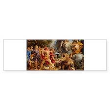 Calydonian Boar Hunt Bumper Sticker