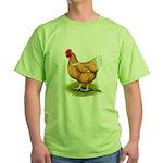 Golden Sex-link Hen Green T-Shirt