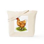 Golden Sex-link Hen Tote Bag