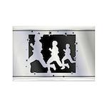 Running Rectangle Magnet (10 pack)