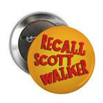 Recall Scott Walker Button