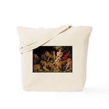Daniel in the Lions Den Tote Bag