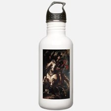 Equestrian Portrait of Gianca Water Bottle
