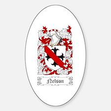 Nelson I Sticker (Oval)