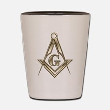 Freemasons Shot Glass