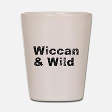 Wiccan and Wild Shot Glass