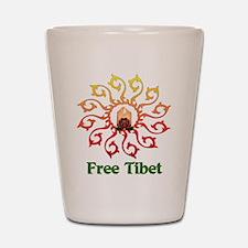 Free Tibet Candle Shot Glass