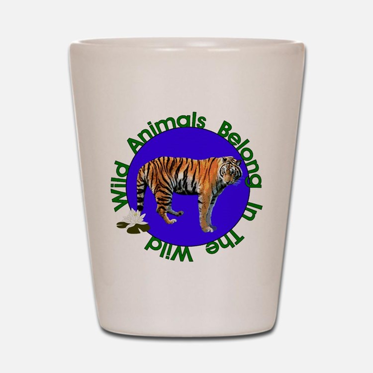Tatiana The Tiger Shot Glass