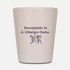 Homophobia Lifestyle Cho Shot Glass
