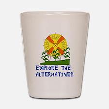 Alternative Energy Shot Glass