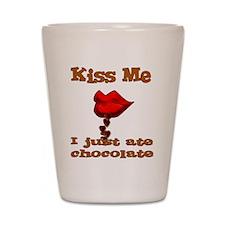 Chocolate Kiss Shot Glass