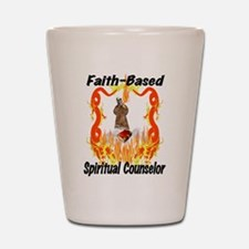 Faith Based Counselor Shot Glass