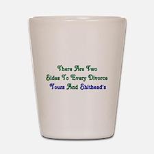 Divorce Shot Glass
