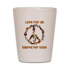 Dogs Of Peace Shot Glass