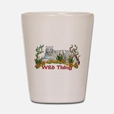 Wild Thing Shot Glass