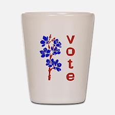 2008 Election Voter Shot Glass