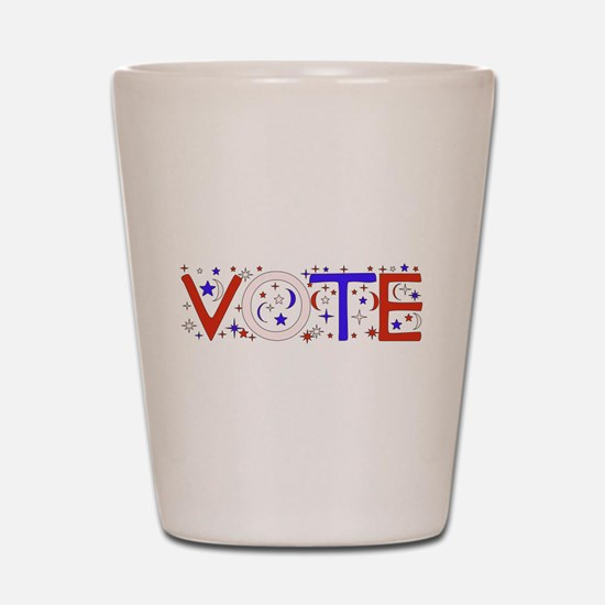 Get Out The Vote 2008 Shot Glass